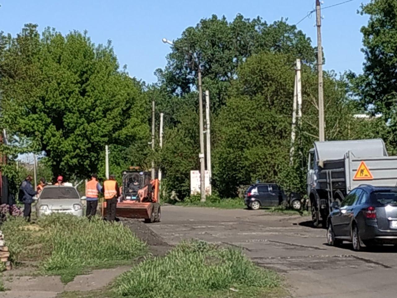 У Слов'янську проходить ямковий ремонт по вулиці Шнурківській, фото-2