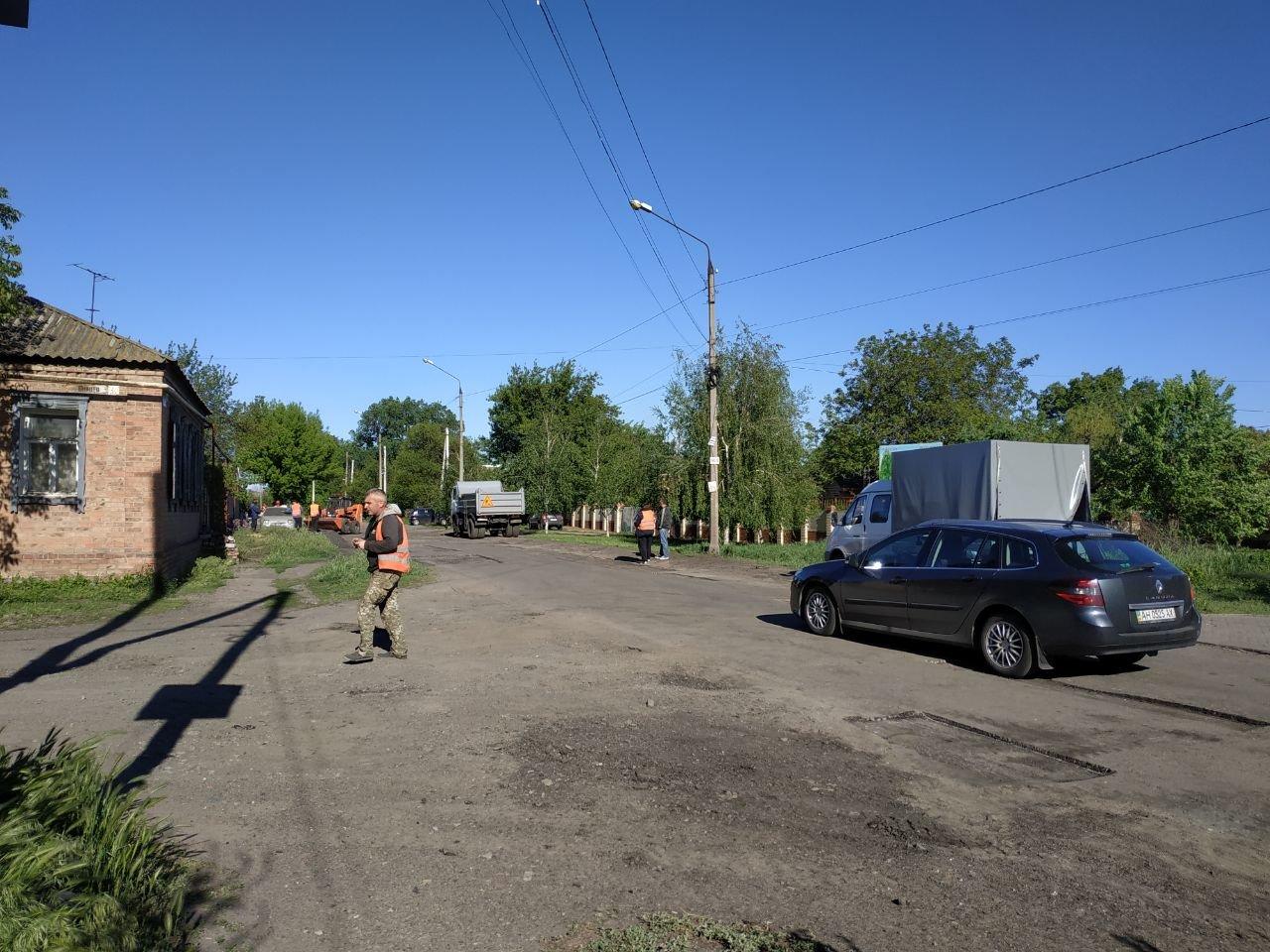У Слов'янську проходить ямковий ремонт по вулиці Шнурківській, фото-3
