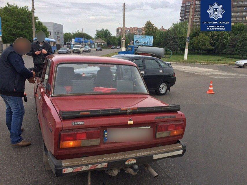 ДТП у центрі Слов'янська. Фото, фото-3