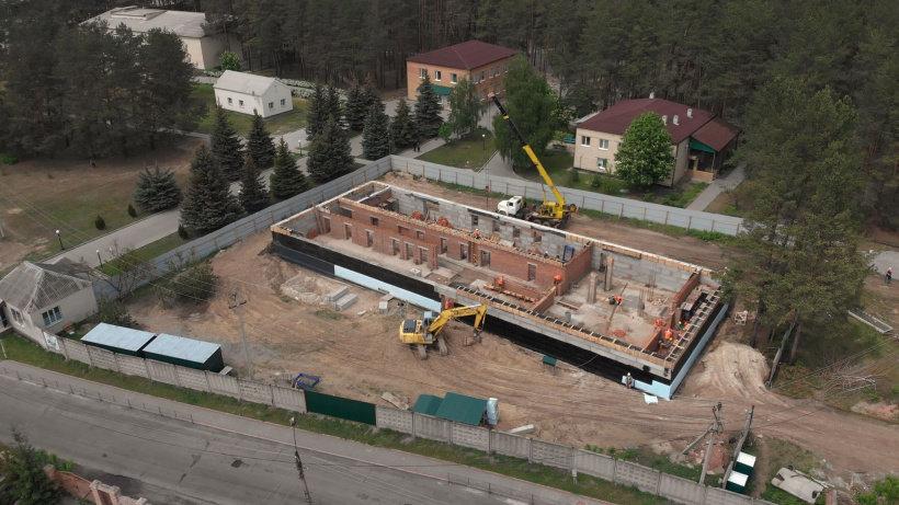 У Святогірську триває будівництво центру реабілітації для учасників АТО/ООС, фото-1