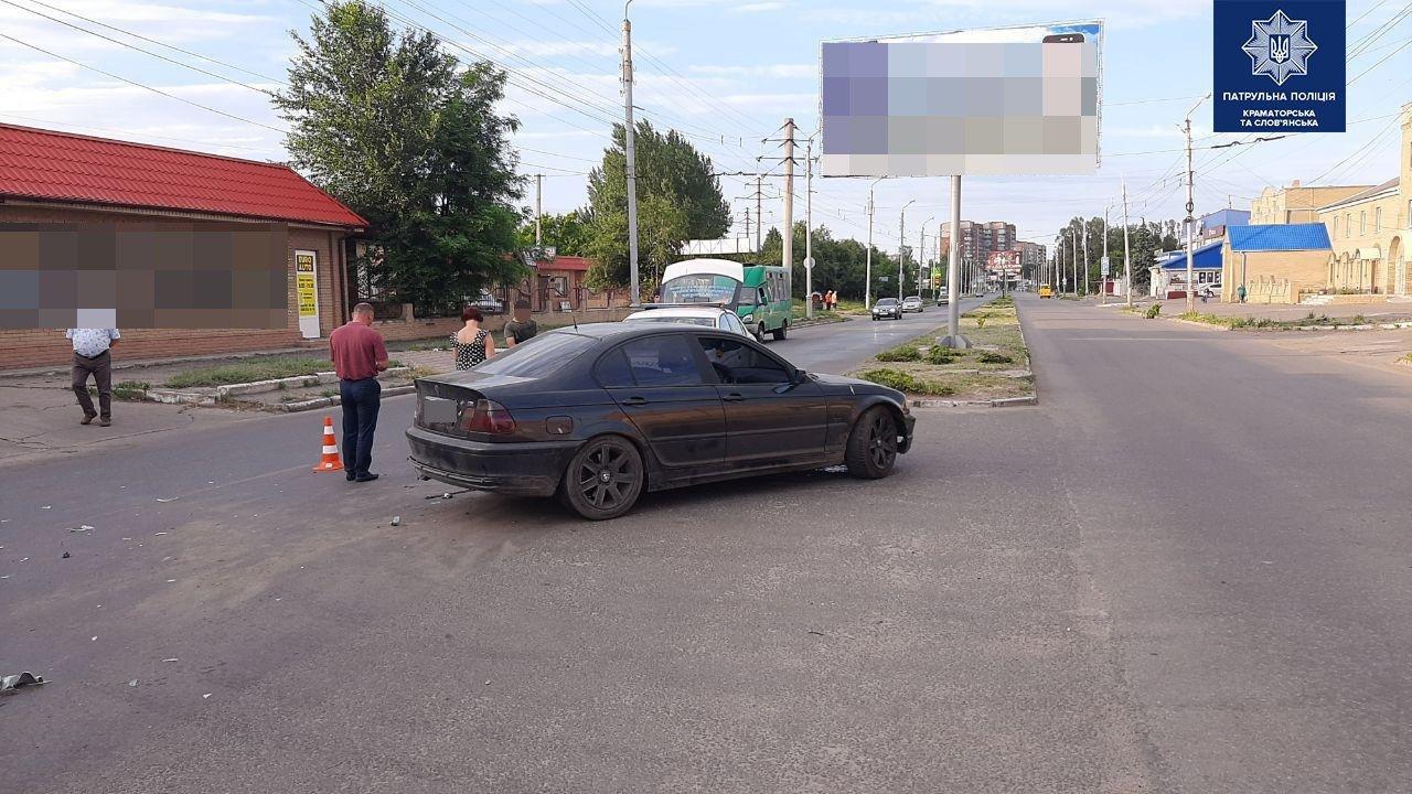 ДТП через сп'яніння. У Слов'янську зіштовхнулися два авто, фото-3