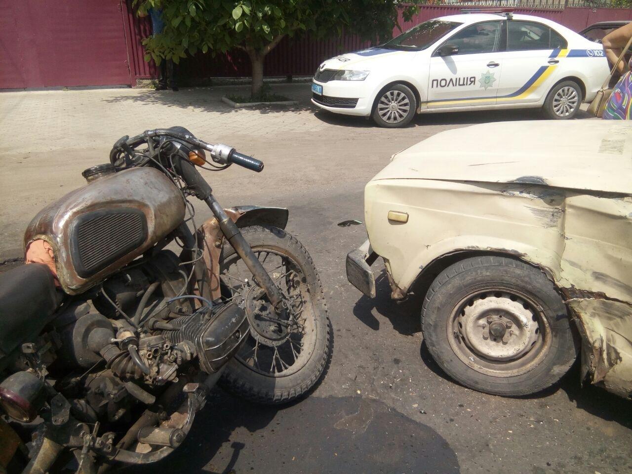 У Слов'янську знову сталося ДТП за участі мотоцикліста, фото-1