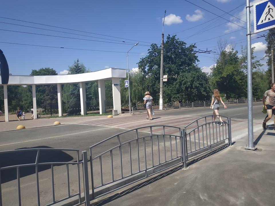 Новий пішохідний перехід біля парка Шовковичного, фото-4