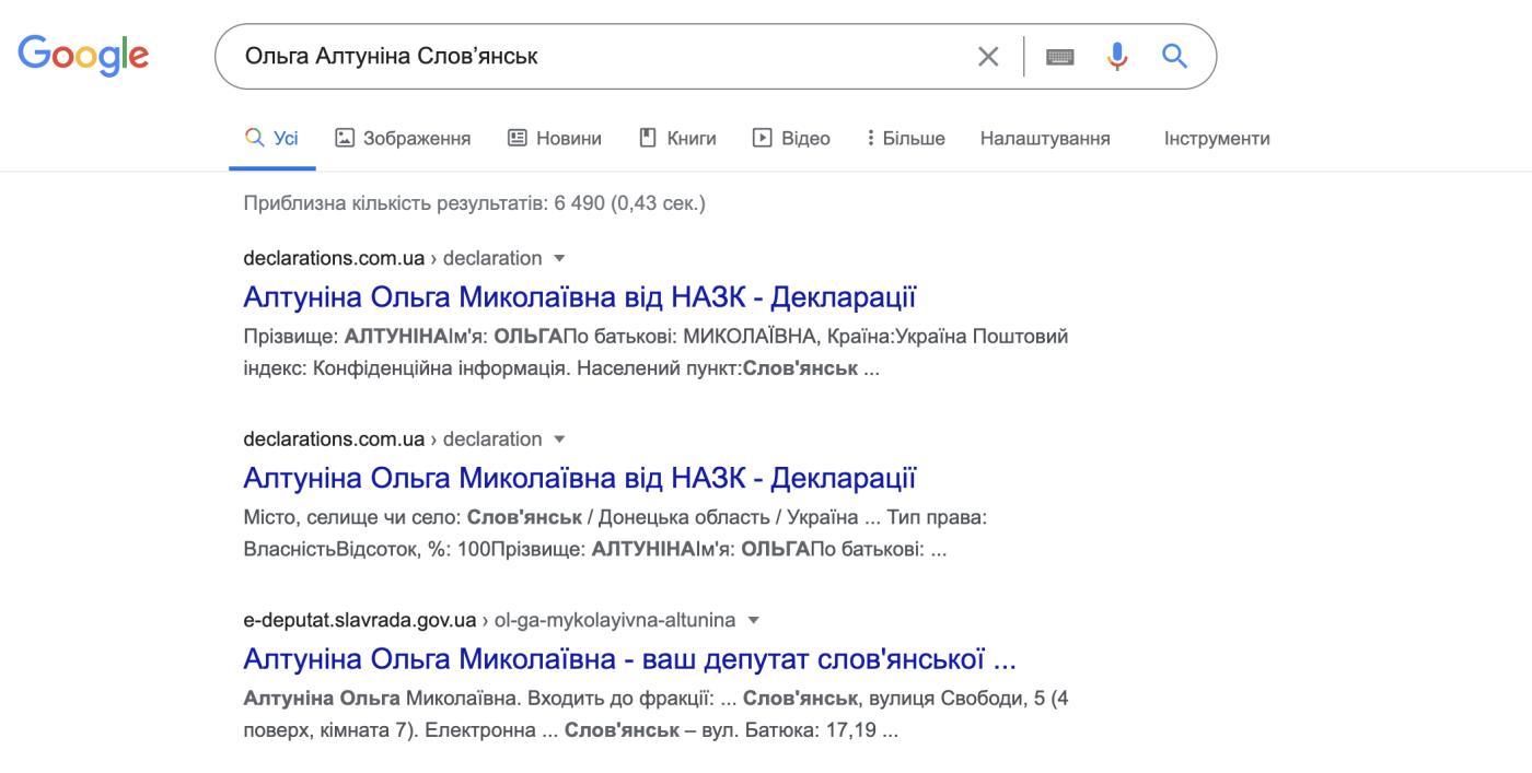 Що знає гугл про кандидатів у мери Слов'янська, фото-1