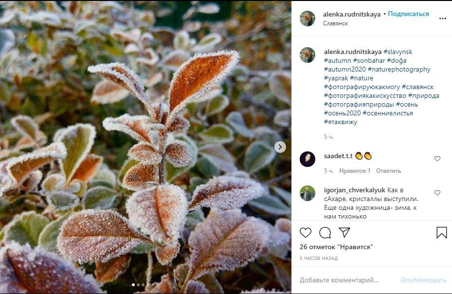 Морозний Слов'янськ у фотографіях. Підбірка з соцмереж, фото-9