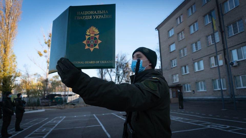Слов'янські гвардійці присягнули на вірність Українському народові, фото-1