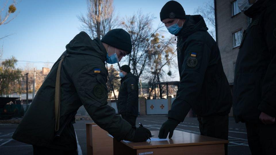 Слов'янські гвардійці присягнули на вірність Українському народові, фото-5