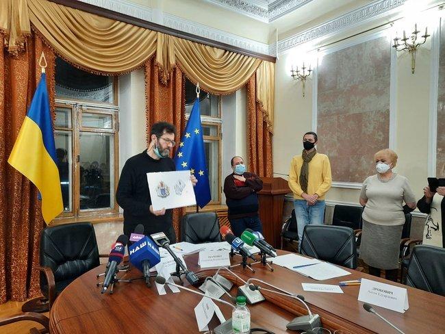 В Україні визначили переможця на найкращий ескіз великого герба. Він отримає 100 тисяч гривень , фото-1