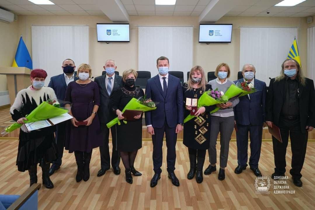 Директорку обласного центру СНІДу у Слов'янську нагородили Орденом Княгині Ольги, фото-1