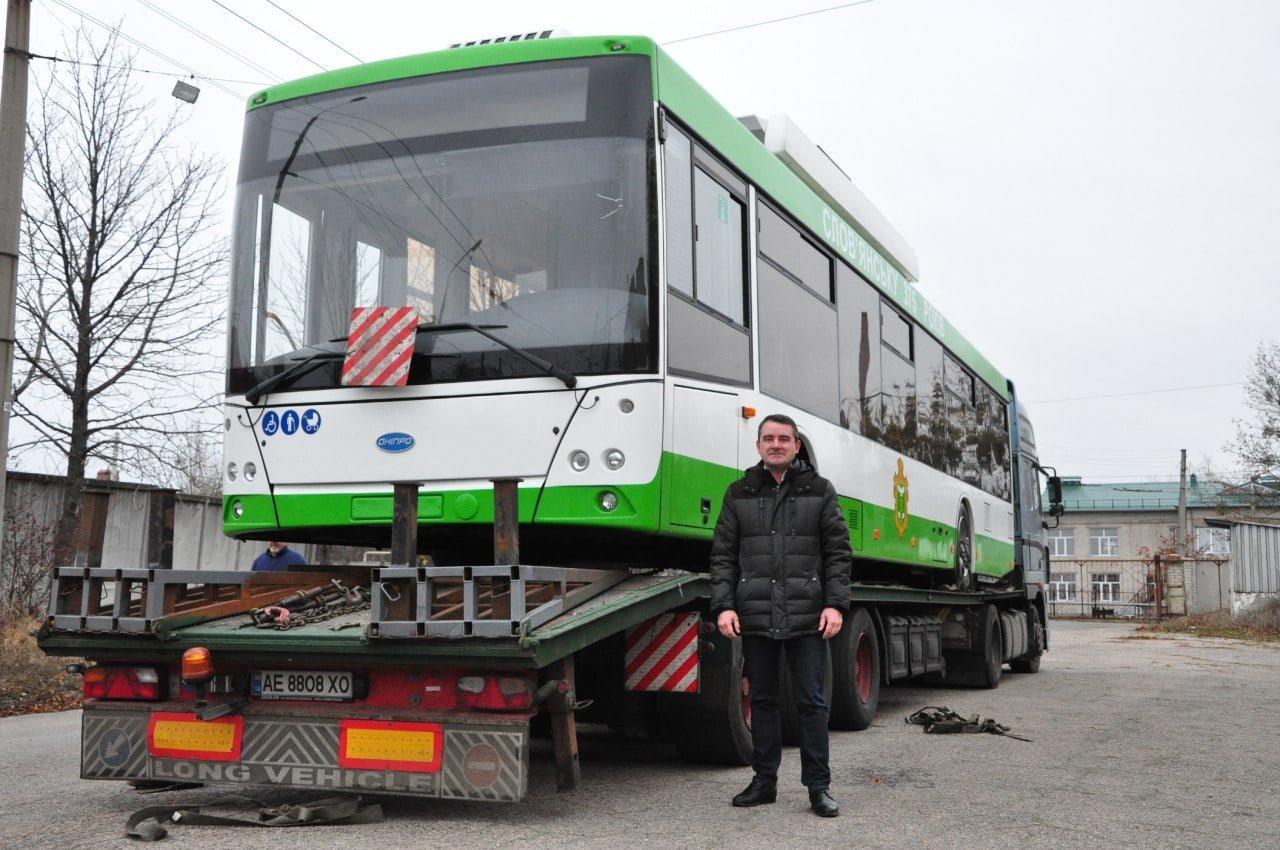 Ще один тролейбус на автономному ходу прибув до Слов'янська, фото-2
