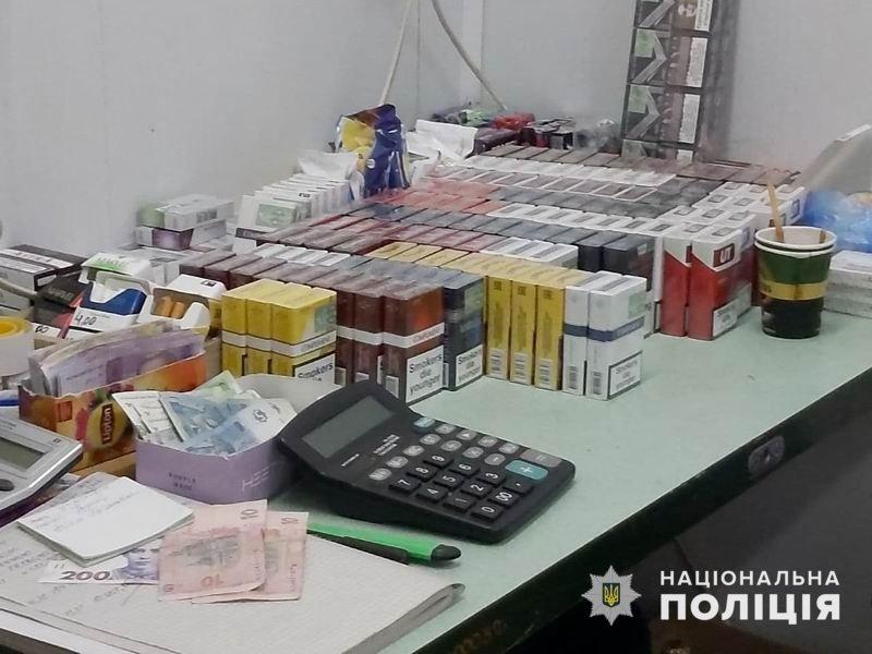 """На ринку """"Лісний"""" у Слов'янську поліція виявила нелегальні тютюнові вироби, фото-1"""
