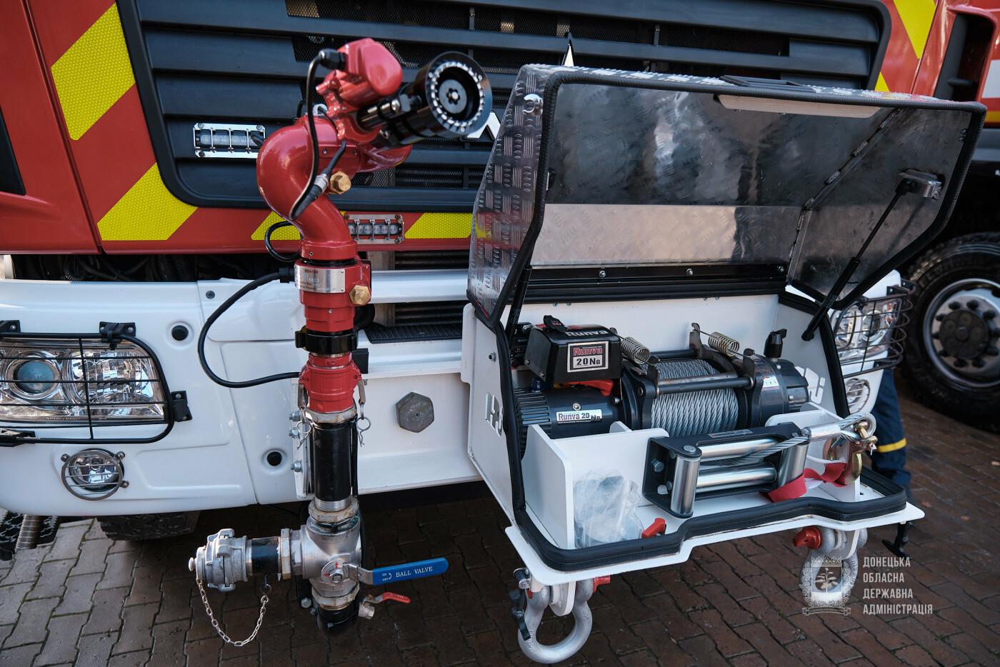 Слов'янські рятувальники отримали нову пожежну автоцистерну, фото-2