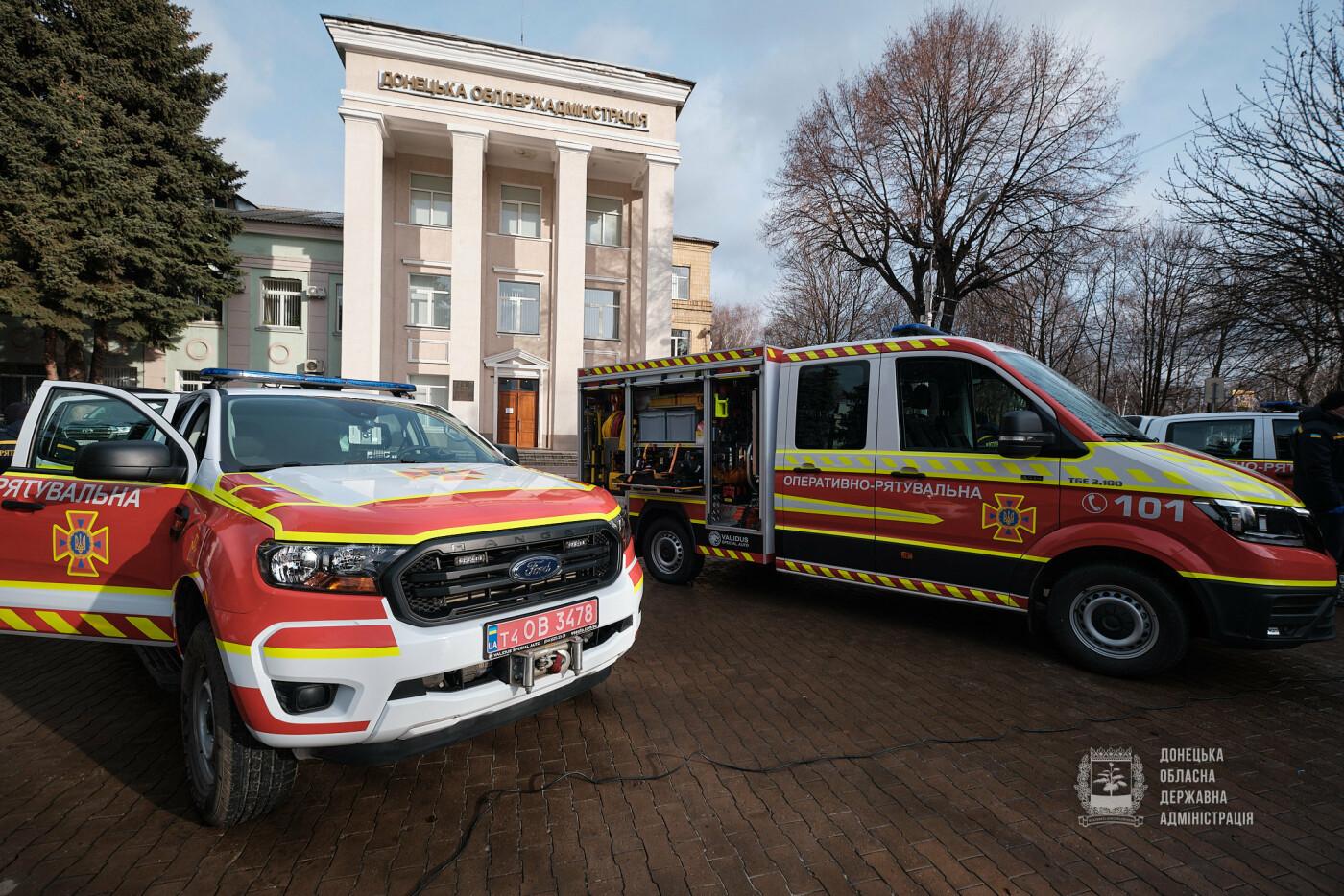 Слов'янські рятувальники отримали нову пожежну автоцистерну, фото-17