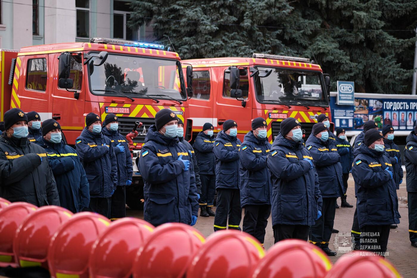 Слов'янські рятувальники отримали нову пожежну автоцистерну, фото-19