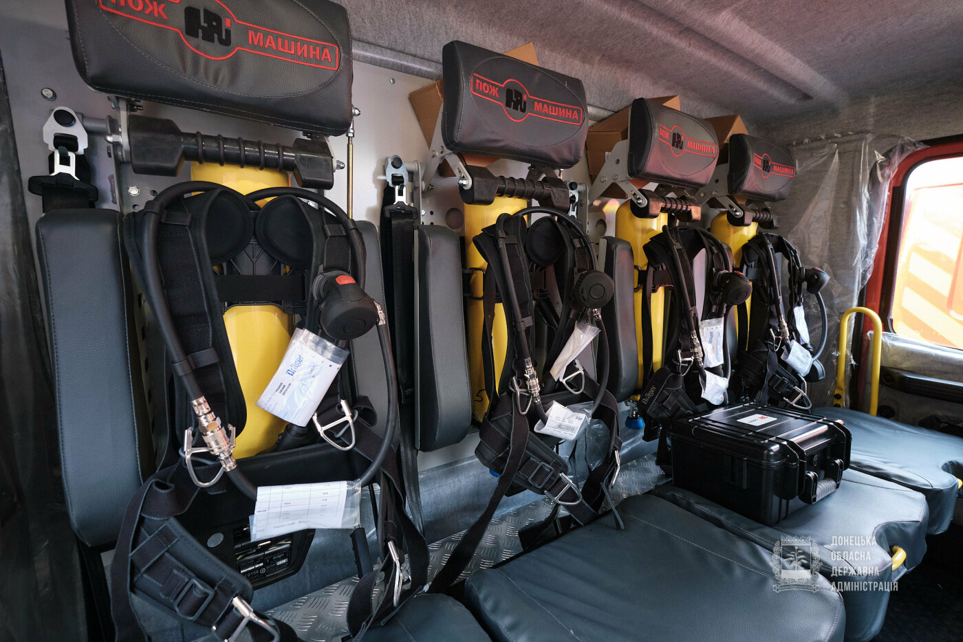 Слов'янські рятувальники отримали нову пожежну автоцистерну, фото-21