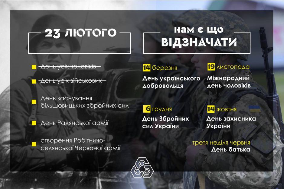 Чому 23 лютого більше не є святом для України, фото-1