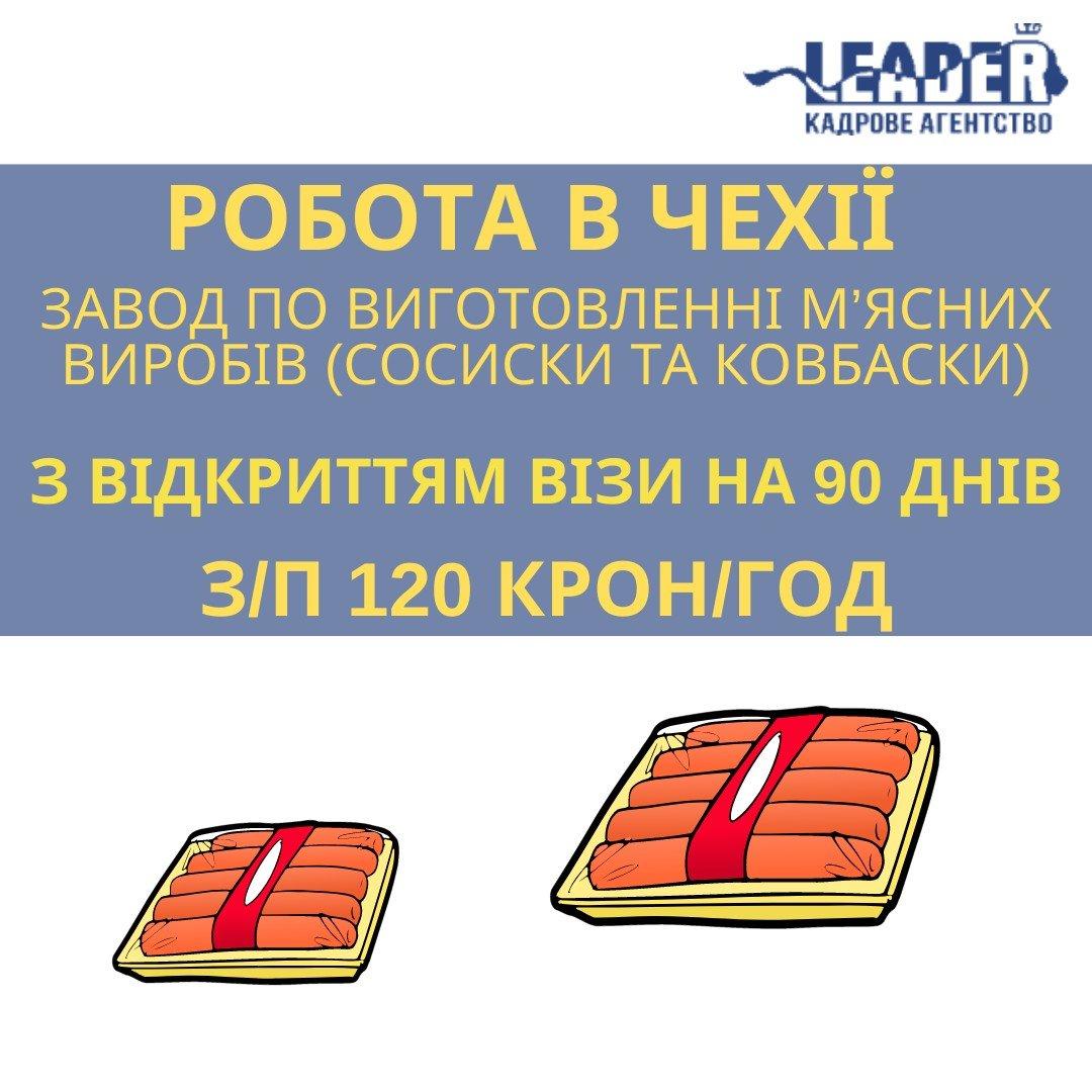 """Ключові вакансії для роботи в Чехії, Кадрове агентство """"ЛІДЕР-ЛТД"""""""
