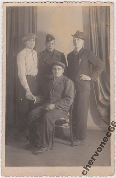 Слов'янці різних років. Старі фотографії мешканців нашого міста , фото-9