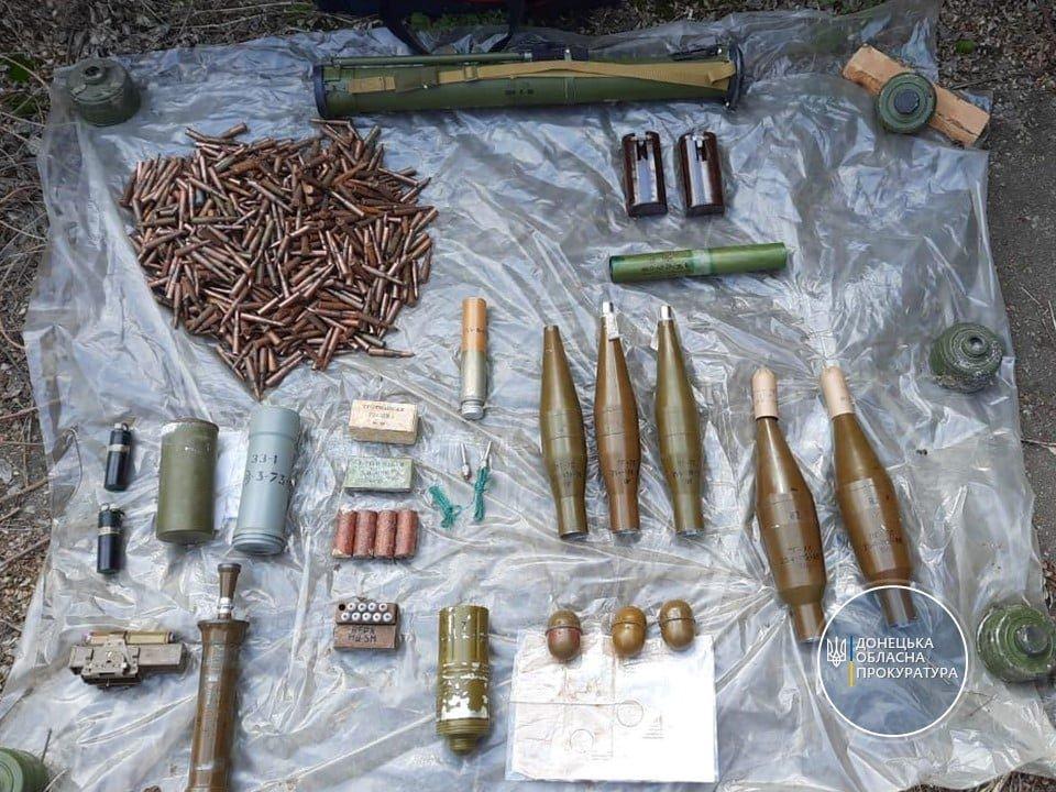 У Слов'янську виявлено потужний схрон зброї та боєприпасів , фото-2