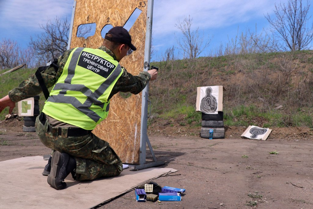 Тактика, топографія та зброя - поліцейські Донеччини провели навчання на полігоні, фото-9