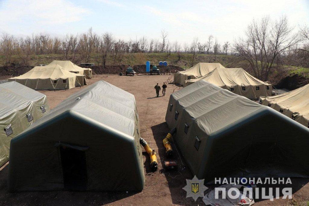 Тактика, топографія та зброя - поліцейські Донеччини провели навчання на полігоні, фото-5