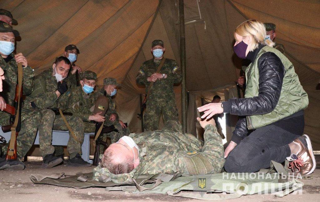 Тактика, топографія та зброя - поліцейські Донеччини провели навчання на полігоні, фото-6