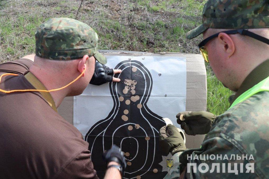 Тактика, топографія та зброя - поліцейські Донеччини провели навчання на полігоні, фото-7