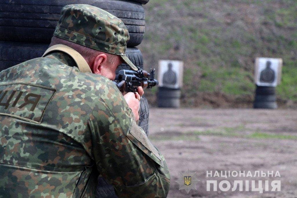 Тактика, топографія та зброя - поліцейські Донеччини провели навчання на полігоні, фото-8