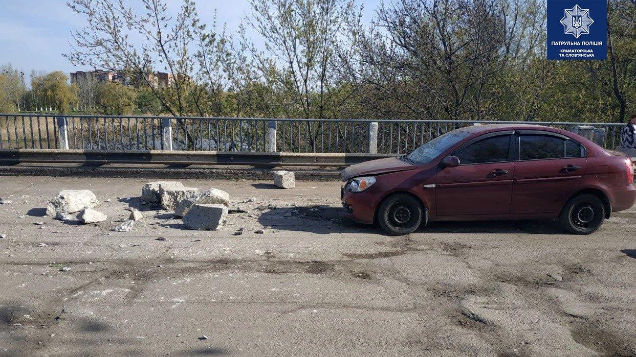 У Слов'янську, прибувши на місце аварії, патрульні не виявили учасників ДТП , фото-1