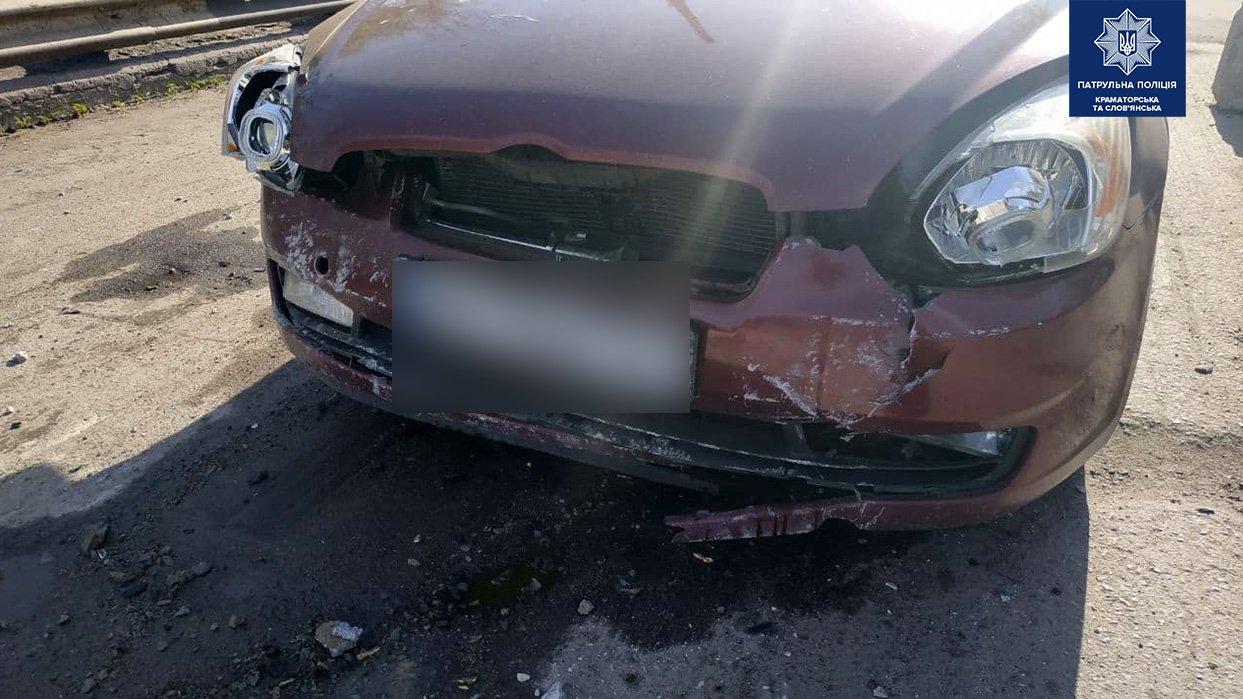 У Слов'янську, прибувши на місце аварії, патрульні не виявили учасників ДТП , фото-2