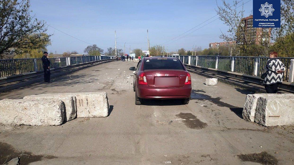 У Слов'янську, прибувши на місце аварії, патрульні не виявили учасників ДТП , фото-3