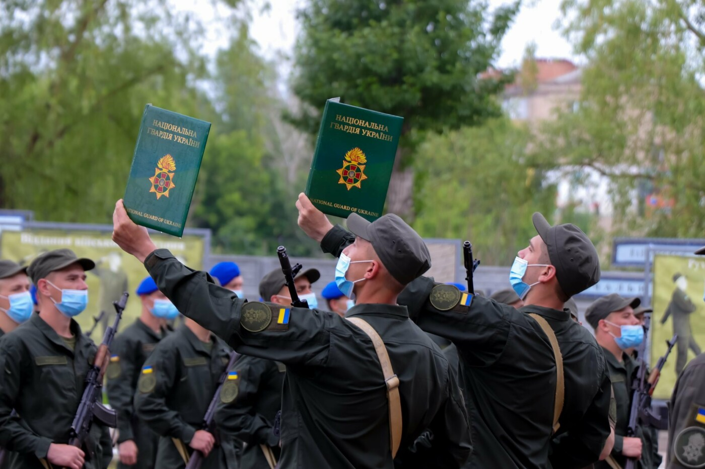 """Сьогодні у Слов'янську вітали батальйон """"Донбас"""" з річницею створення, фото-4"""
