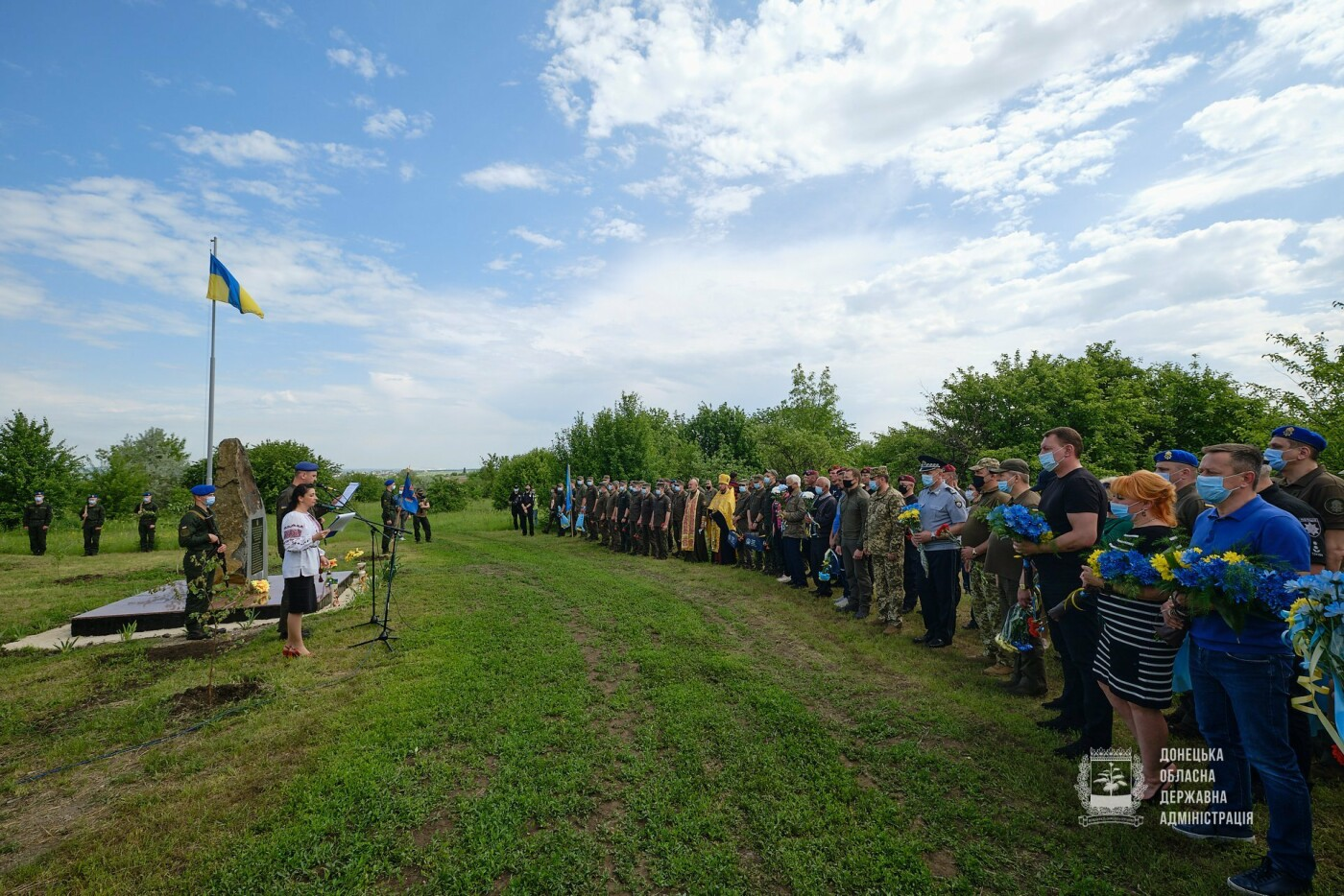 Під Слов'янськом вшанували пам'ять екіпажу Мі-8, фото-1