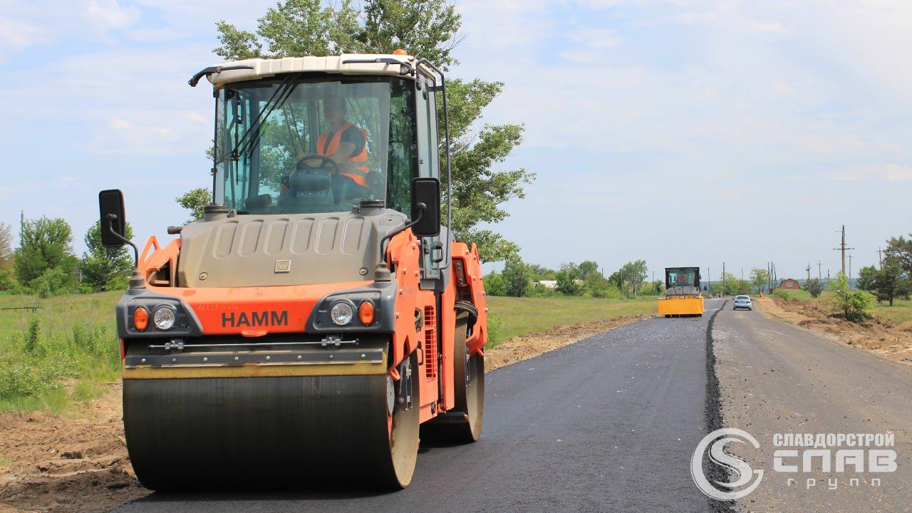 Автошлях між Слов'янськом та Черкаською ОТГ відновлюють, фото-5