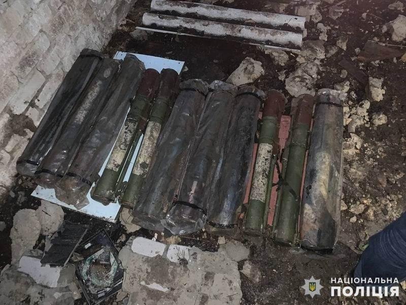 Поблизу Слов'янська правоохоронці вилучили схрон боєприпасів , фото-2