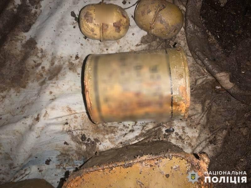 Поблизу Слов'янська правоохоронці вилучили схрон боєприпасів , фото-1