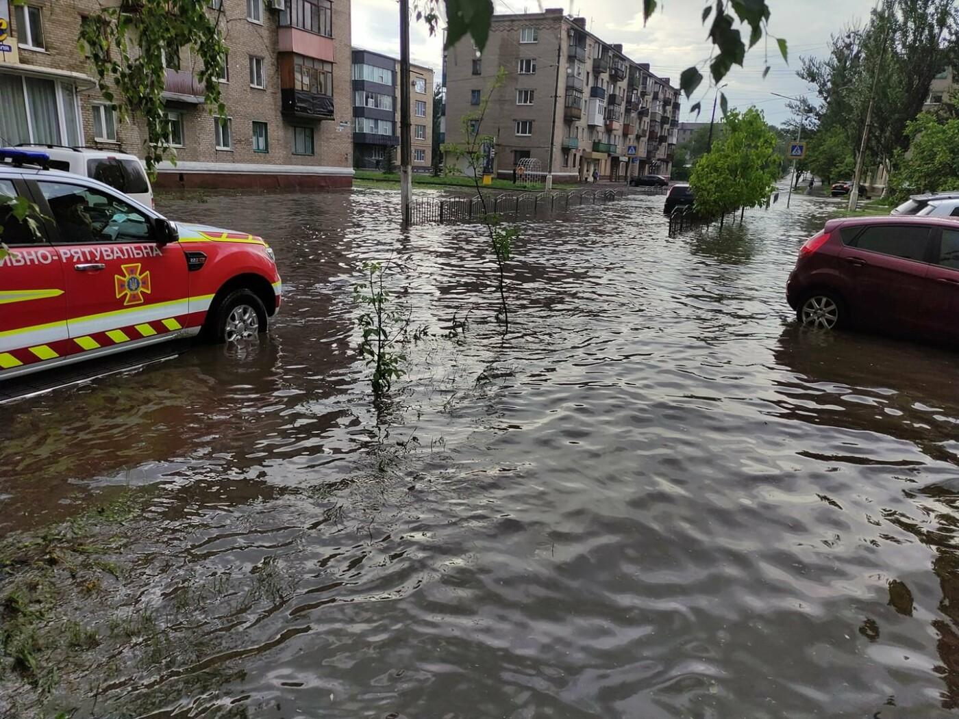 Човен не знадобиться? Після сильних дощів у Слов'янську планують обладнати нову зливову каналізацію , фото-2