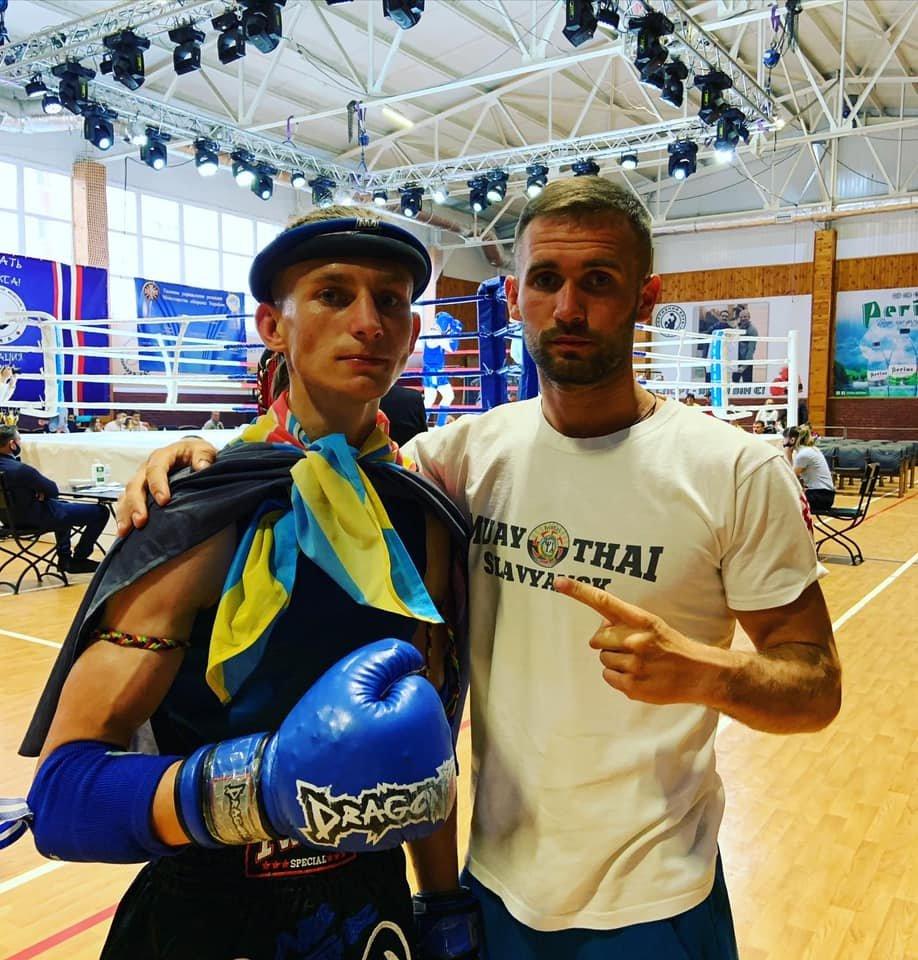 Спортсмени зі Слов'янська взяли срібло і бронзу на чемпіонаті України з таїландського боксу, фото-11