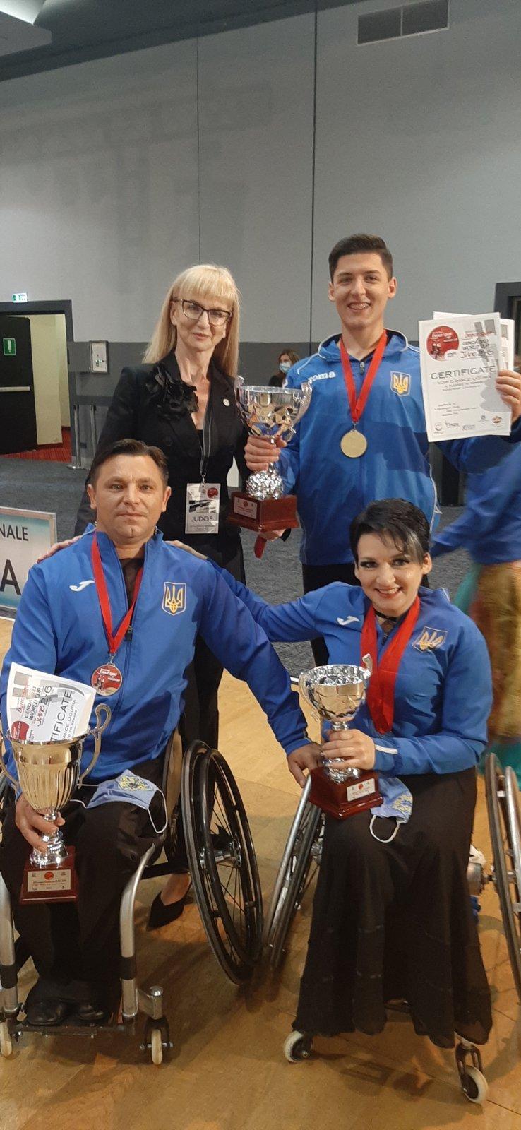 Танцівники на візках зі Слов'янська привезли медалі з Чемпіонату світу  , фото-1